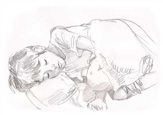 Simodas_a_nephew_is_sleeping1_3